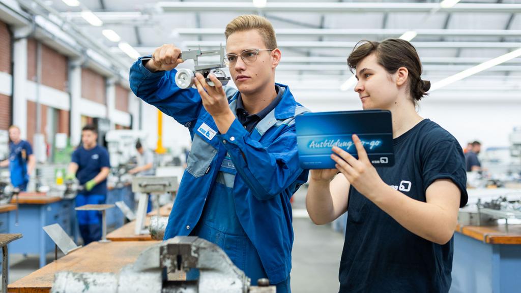 Ausbildung bei KSB in Frankenthal