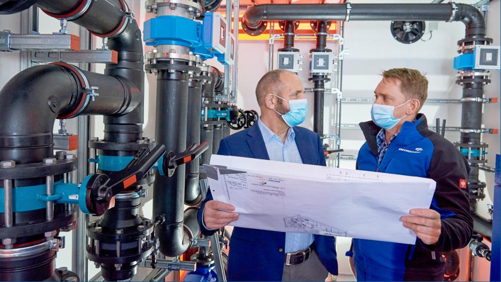 Enviro-Chemie: Mit der Aufbereitung von Wasser gegen den Klimawandel
