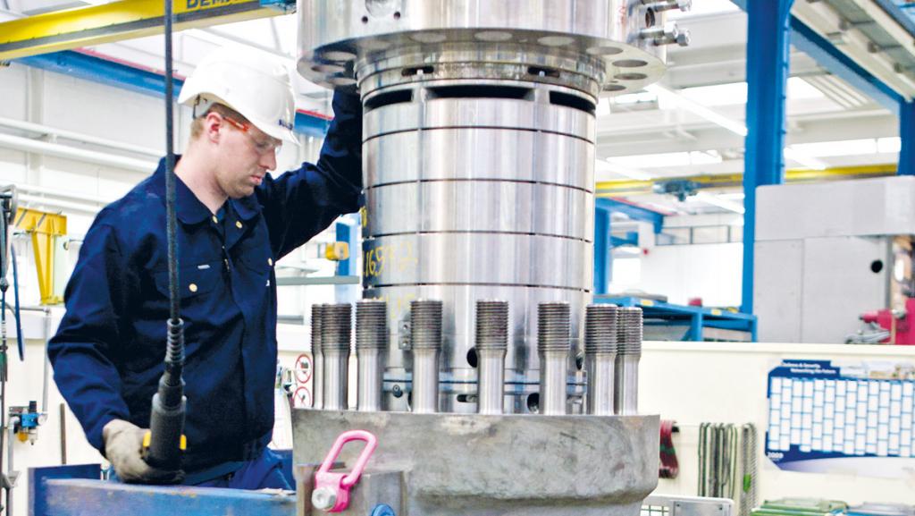 Sulzer Pumpen fertigt unter anderem Produkte für die Energieindustrie. Foto: Sulzer Pumpen