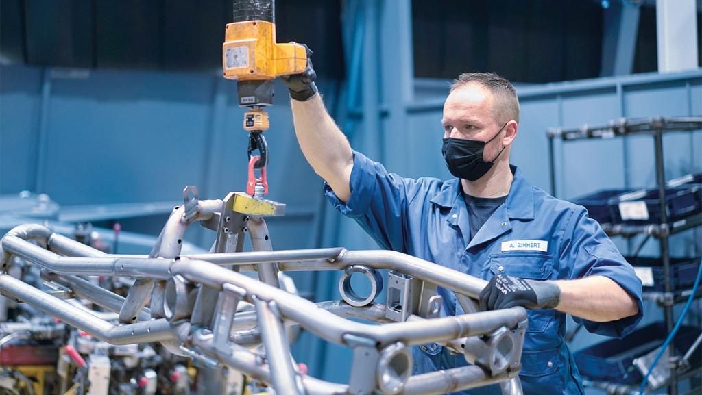 Im Werk Simmersfeld fertigt Boysen Strukturbauteile für Elektrofahrzeuge – und investiert in ein eigenes Wasserstoffzentrum. Bild: Boysen Group
